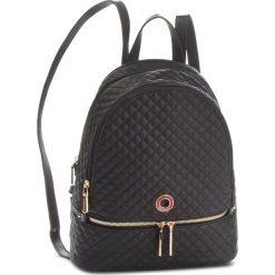 Plecak MONNARI - BAGA110-020 Czarny. Czarne plecaki damskie Monnari, ze skóry ekologicznej, klasyczne. W wyprzedaży za 199.00 zł.