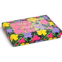 Happy Socks - Figi Andy Warhol. Różowe figi damskie Happy Socks, z dzianiny. W wyprzedaży za 129.90 zł.