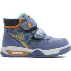 Niebieskie Buty Sportowe Monsoon. Niebieskie buty sportowe chłopięce Born2be, z materiału. Za 69.99 zł.