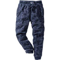 Spodnie sportowe melanżowe bonprix ciemnoniebieski melanż. Spodnie sportowe męskie marki bonprix. Za 69.99 zł.