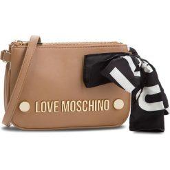 Torebka LOVE MOSCHINO - JC4308PP06KU0201 Cammello. Brązowe listonoszki damskie Love Moschino, ze skóry ekologicznej. Za 719.00 zł.