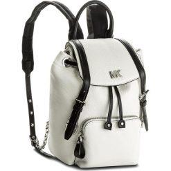 Plecak MICHAEL MICHAEL KORS - Beacon 30S8SOXB1L  Opticwht/Blk. Białe plecaki damskie MICHAEL Michael Kors, ze skóry, eleganckie. Za 1,279.00 zł.