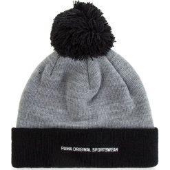 Czapka PUMA - Pom Pom Beanie 021707 03 Medium Gray Heather/Black. Czarne czapki i kapelusze męskie Puma. Za 79.00 zł.