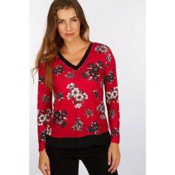 """Koszulka """"Flobike"""" w kolorze czerwonym. Czerwone t-shirty damskie Scottage. W wyprzedaży za 68.95 zł."""