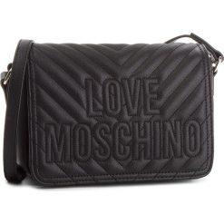 Torebka LOVE MOSCHINO - JC4262PP06KI0000 Nero. Czarne listonoszki damskie Love Moschino, ze skóry ekologicznej. Za 679.00 zł.