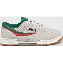 Fila - Buty Original Fitness S. Szare buty sportowe męskie Fila, z gumy. W wyprzedaży za 319.90 zł.
