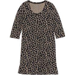 Koszula nocna bonprix czarno-brunatny wzorzysty. Koszule nocne damskie marki MAKE ME BIO. Za 34.99 zł.