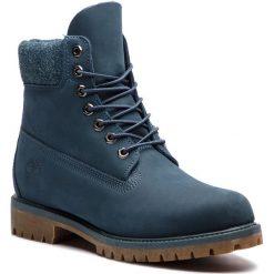 Trapery TIMBERLAND - Premium 6 In Waterproof Boot TB0A1UEU431 Navy Nubuck. Niebieskie śniegowce i trapery męskie Timberland, z materiału. W wyprzedaży za 569.00 zł.
