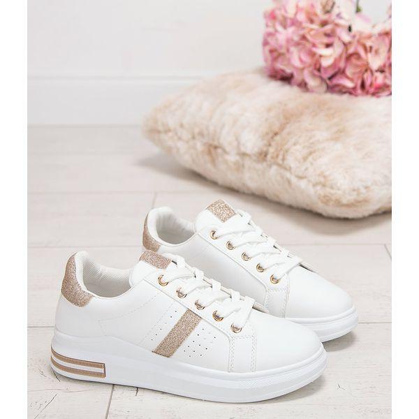 Buty sportowe damskie NM R230 Złote