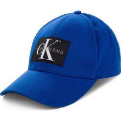 Czapka z daszkiem CALVIN KLEIN JEANS - J Monogram Cap M K40K400752 452. Niebieskie czapki i kapelusze męskie Calvin Klein Jeans. Za 159.00 zł.