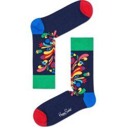 Happy Socks - Skarpety (3-pack). Szare skarpety męskie Happy Socks, z bawełny. W wyprzedaży za 69.90 zł.