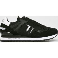 Trussardi Jeans - Buty. Czarne obuwie sportowe damskie TRUSSARDI JEANS, z gumy. Za 479.90 zł.