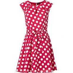 Sukienka w groszki bonprix czerwono-biały w groszki. Czerwone sukienki damskie bonprix, w grochy, eleganckie. Za 59.99 zł.