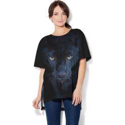 Colour Pleasure Koszulka CP-033  151 czarna r. uniwersalny. T-shirty damskie Colour Pleasure. Za 76.57 zł.