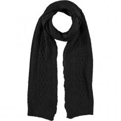Szal w kolorze czarnym - 200 x 30 cm. Czarne szaliki i chusty damskie Assuili, z dzianiny. W wyprzedaży za 113.95 zł.