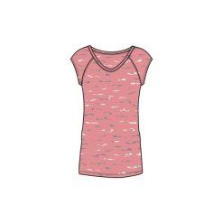 Koszulka krótki rękaw slim Gym & Pilates 500 damska. Koszulki sportowe damskie marki DOMYOS. Za 19.99 zł.