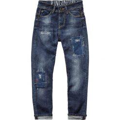 """Dżinsy """"Calvino"""" - Regular fit - w kolorze granatowym. Jeansy dla chłopców marki Reserved. W wyprzedaży za 99.95 zł."""