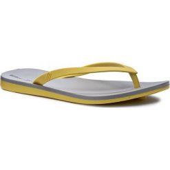 Japonki MELISSA - Melissa + Ipanema Ad 32211 Yellow/Grey 51525. Żółte klapki damskie Melissa, z materiału. W wyprzedaży za 119.00 zł.