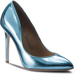 Szpilki SIMPLE - Violett DCG470-348-3000-0111-0 06. Niebieskie szpilki damskie Simple, ze skóry. W wyprzedaży za 279.00 zł.