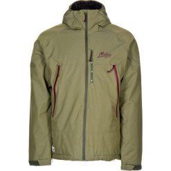 """Kurtka narciarska """"Dallas"""" w kolorze khaki. Brązowe kurtki snowboardowe męskie Maloja, z materiału. W wyprzedaży za 560.95 zł."""