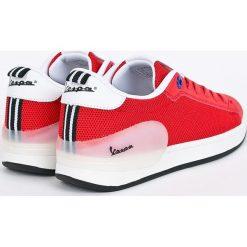 Vespa - Buty Freccia. Czerwone obuwie sportowe damskie Vespa, z materiału. W wyprzedaży za 219.90 zł.