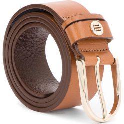 Pasek Damski TOMMY HILFIGER - Classic Belt 3.5 AW0AW05885 75 262. Brązowe paski damskie Tommy Hilfiger, w paski, ze skóry. Za 229.00 zł.