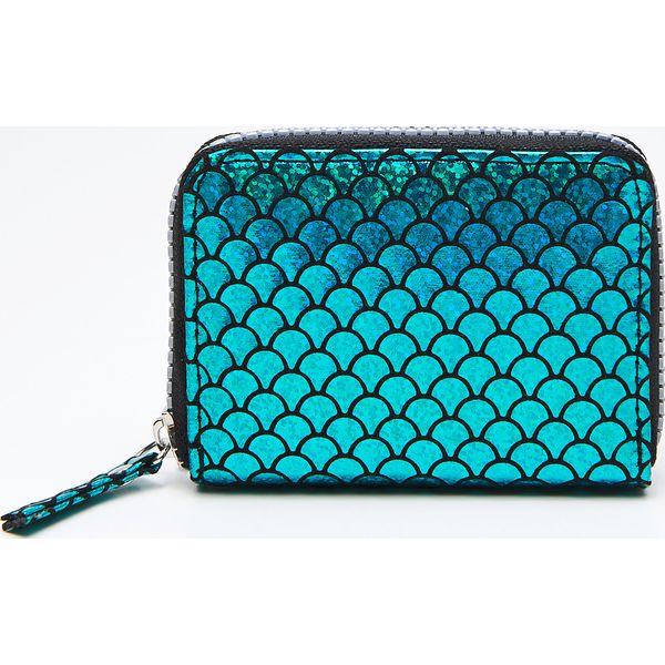 011ac657523ad Portfel - Niebieski - Portfele damskie marki Cropp. W wyprzedaży za ...