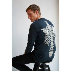 Medicine - Longsleeve by Dark Ashes, Halloween. Szare bluzki z długim rękawem męskie MEDICINE, polo. W wyprzedaży za 71.90 zł.