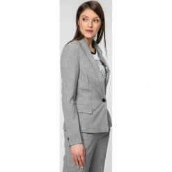 Vero Moda - Żakiet Olivia. Szare żakiety damskie Vero Moda, z elastanu, casualowe. W wyprzedaży za 99.90 zł.