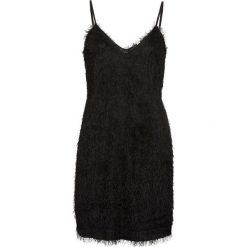 Sukienka bonprix czarny. Czarne sukienki damskie bonprix, z długim rękawem. Za 149.99 zł.
