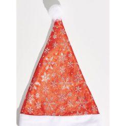 Świąteczna czapka - Czerwony. Czapki i kapelusze damskie marki Sinsay. Za 7.99 zł.