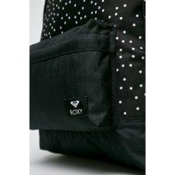Roxy - Plecak. Czarne plecaki damskie Roxy, z materiału. W wyprzedaży za 129.90 zł.