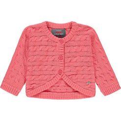 Kardigan w kolorze różowym. Swetry dla dziewczynek marki bonprix. W wyprzedaży za 59.95 zł.