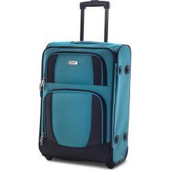 Mała Materiałowa Walizka TITAN - Merik 196410/02-25 S Bluebird. Niebieskie walizki męskie Titan, z materiału. Za 119.00 zł.