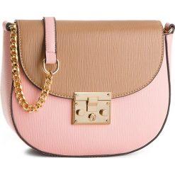 Torebka VERDE - 16-0004563  Pink. Brązowe torebki do ręki damskie Verde, ze skóry ekologicznej. Za 119.00 zł.