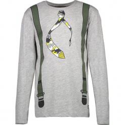 """Koszulka """"Santa"""" w kolorze szarym. T-shirty dla chłopców marki Reserved. W wyprzedaży za 32.95 zł."""