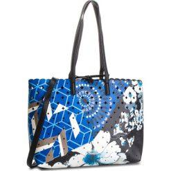 Torebka DESIGUAL - 18WAXP26 5000. Niebieskie torebki do ręki damskie Desigual, ze skóry ekologicznej. W wyprzedaży za 289.00 zł.