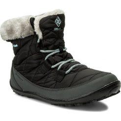 Śniegowce COLUMBIA - Youth Minx Shorty Omni-Heat Waterproof BY1334 Black/Sparay 010. Czarne śniegowce i trapery damskie Columbia, z materiału. Za 319.99 zł.
