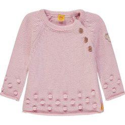 Sweter w kolorze jasnoróżowym. Swetry dla dziewczynek marki bonprix. W wyprzedaży za 129.95 zł.