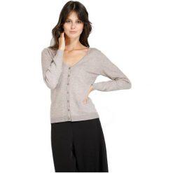 William De Faye Sweter Damski L Beżowy. Brązowe swetry damskie William de Faye, z kaszmiru. W wyprzedaży za 145.00 zł.