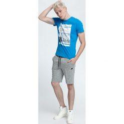 T-shirt męski TSM027 - jasny niebieski. T-shirty męskie marki Giacomo Conti. W wyprzedaży za 59.99 zł.