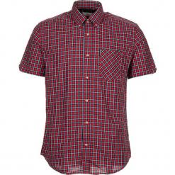 """Koszula """"SS Pop Check"""" - Regular fit - w kolorze czerwono-białym. Białe koszule męskie Ben Sherman, w kratkę, z bawełny, button down. W wyprzedaży za 130.95 zł."""