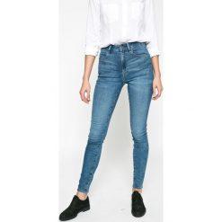 G-Star Raw - Jeansy 3301. Niebieskie jeansy damskie G-Star Raw. W wyprzedaży za 269.90 zł.