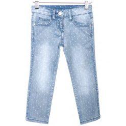 Primigi Jeansy Dziewczęce 104 Niebieski. Niebieskie jeansy dla dziewczynek Primigi, z jeansu. W wyprzedaży za 105.00 zł.