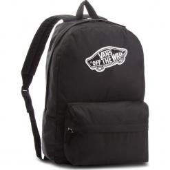 Plecak VANS - Realm Backpack VN0A3UI6BLK Black. Czarne plecaki damskie Vans, z materiału, sportowe. W wyprzedaży za 129.00 zł.