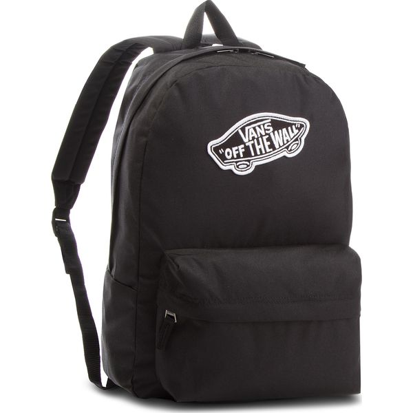 40576f757f615 Plecak VANS - Realm Backpack VN0A3UI6BLK Black - Czarne plecaki ...