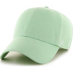47brand - Czapka Clean Up Curved. Szare czapki i kapelusze damskie 47brand, z bawełny. W wyprzedaży za 79.90 zł.