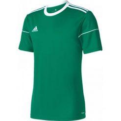 Adidas Koszulka piłkarska Squadra 17 Junior zielona r. 164 (BJ9179*164). Koszulki sportowe męskie marki bonprix. Za 46.95 zł.