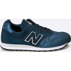 New Balance - Buty. Szare obuwie sportowe damskie New Balance, z materiału. Za 299.90 zł.