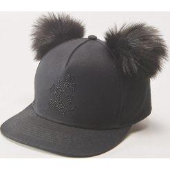 Czapka z daszkiem Mickey Mouse - Czarny. Czarne czapki i kapelusze damskie House. Za 39.99 zł.